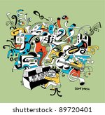 creative illustration of... | Shutterstock .eps vector #89720401