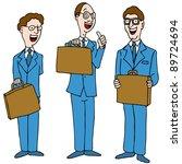 an image of a legal men wearing ... | Shutterstock .eps vector #89724694