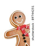 Smiling Gingerbread Man ...