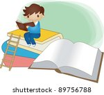 starting school | Shutterstock .eps vector #89756788