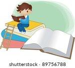 starting school | Shutterstock .eps vector #89756788