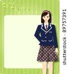 high school student | Shutterstock .eps vector #89757391
