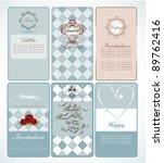 sweet label card | Shutterstock .eps vector #89762416