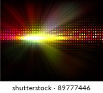 vector party background with ... | Shutterstock .eps vector #89777446