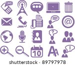 set of business icons | Shutterstock .eps vector #89797978