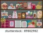 store of sweets and chocolate