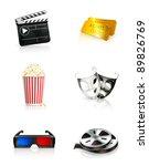 Film  Vector Icon Set