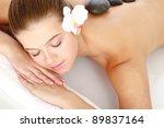 attractive woman getting spa... | Shutterstock . vector #89837164