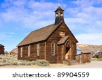 An Old Wooden Church Located I...