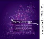 merry christmas | Shutterstock .eps vector #89907325