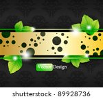 eps10 vector abstract nature... | Shutterstock .eps vector #89928736