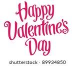 playful vector lettering series ... | Shutterstock .eps vector #89934850