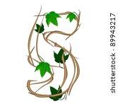 single vector numbers in the... | Shutterstock .eps vector #89943217