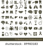 70 medical  science and...   Shutterstock .eps vector #89983183