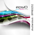 eps10 vector abstract concept... | Shutterstock .eps vector #89983252