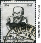 italy   circa 1964  a stamp... | Shutterstock . vector #90010723