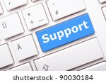 Support Word On Computer...