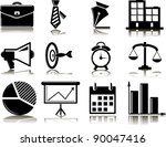 set of business icons | Shutterstock .eps vector #90047416