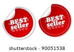 best seller stickers | Shutterstock . vector #90051538