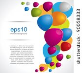brochure background composition ... | Shutterstock .eps vector #90058333