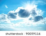 Beautiful Blue Sky With...