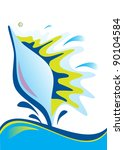 shell | Shutterstock .eps vector #90104584