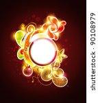 christmas background | Shutterstock .eps vector #90108979