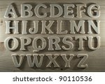 english alphabet background | Shutterstock . vector #90110536