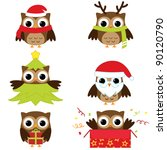 Christmas And New Year's Owls...
