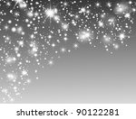 abstract christmas background... | Shutterstock . vector #90122281