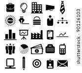 vector illustration of business ... | Shutterstock .eps vector #90126103