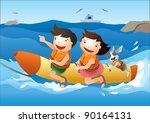 enjoy recreation | Shutterstock .eps vector #90164131