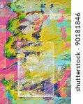 retro texture background | Shutterstock . vector #90181846