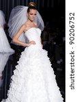 barcelona   may 13  a model...   Shutterstock . vector #90206752