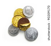 Chocolate Coins  Gold And...