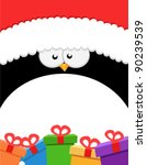 Big Penguin With Gifts