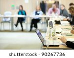 business conference | Shutterstock . vector #90267736