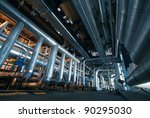 industrial zone  steel... | Shutterstock . vector #90295030