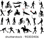sport collection | Shutterstock .eps vector #90303406