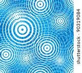 water ripple seamless pattern ... | Shutterstock .eps vector #90319084