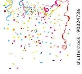 confetti | Shutterstock .eps vector #90324736