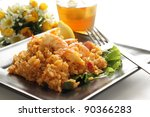 New orleans food, Jambalaya with shrimp - stock photo