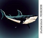 shark   Shutterstock .eps vector #90382858