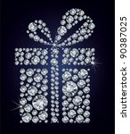 illustration of gift present... | Shutterstock .eps vector #90387025