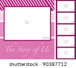 the story of us through the... | Shutterstock .eps vector #90387712