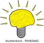 brain power light bulb...