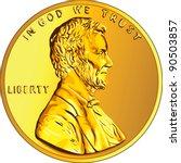 Vector American Money  One Cen...