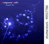 magic wand background vector...   Shutterstock .eps vector #90517786