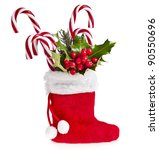 Christmas Boot Stocking With...