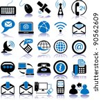 set of twenty five... | Shutterstock .eps vector #90562609